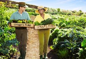 Oprah's reaping her crop
