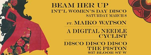 Beam me Up - International Women's Day Event